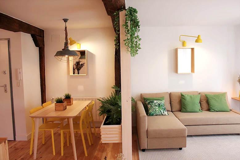 salón ideas decoración selva