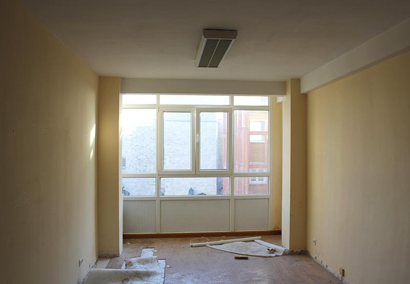 reforma salon santander piso